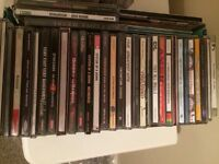 CD collection - mainly rock