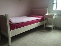 Girl's pink and white furniture