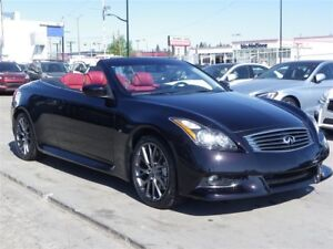 2014 Infiniti Q60 IPL w/Red Interior|CONVERTIBLE|LOADED
