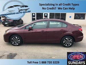 2013 Honda Civic AC,CRUISE,HANDS FREE, SUNROOF