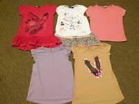 Girls 4-5 years spring / summer bundle