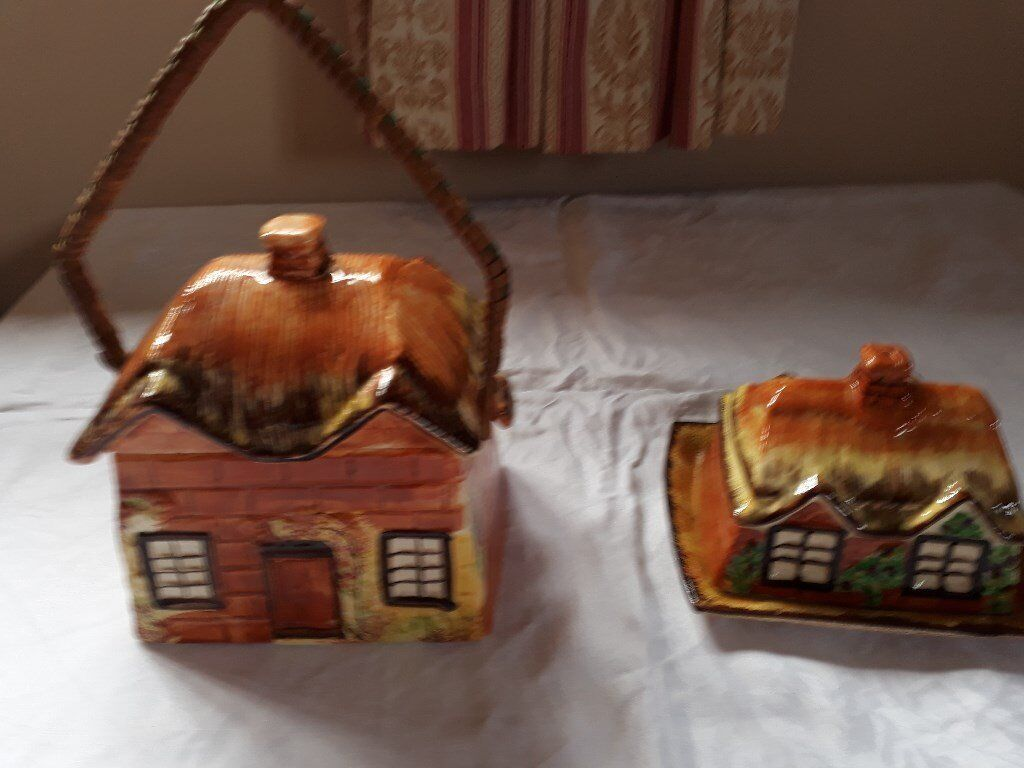 Caddy and Butter dish Price Bros