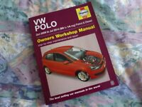 Haynes Manual for: VW Polo-Oct 09-July 14 models.