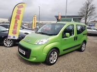 2011 Fiat Qubo 1.4 MyLife 5dr Finance Available Year MOT 3 Month RAC Warranty Included