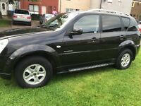 No time wasters £3200 ono 4x4 ssangyong Rexton desile auto
