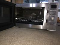 Used Panasonic NN-CF771S 1000Watts Family Size Combi Microwave Oven Stainless Steel