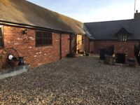 Beautiful barn conversion with paddocks 5 bed