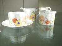 Wedgwood bone china.