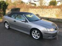 05 SAAB 9-3 Convertible 1.8 Petrol Low Miles