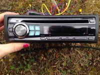 Alpine cd/MP3 player car stereo