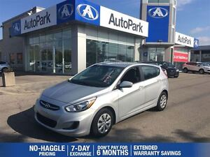 2015 Hyundai Accent SE/BLUETOOTH/KEYLESS/BALANCE OF FACTORY WARR