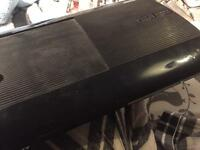 PS3 slim, 14 games, all cables, 1 controller