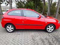 Seat Ibiza 1.2 low miles 1 former keeper 2keys 3 months warranty plus 3 months aa breakdown cover
