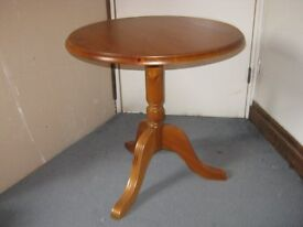 Ducal round occassional table