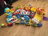Big bundle of toddler toys