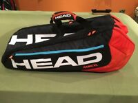 Head 9 racket Super Combi Tennis /Squash bag