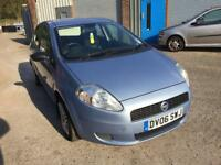 2006 FAIT PUNTO GRAND ACTIVE 1242cc 5 DOOR HATCH BACK LOW INS LOW TAX IDEAL FIRST CAR