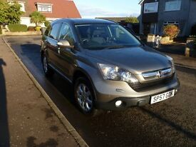 Honda Cr-V 2.2 i-CDTi ES, 57reg, Full years MOT, Excellent Condition outside, inside and tyres.