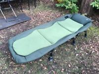 Nash Indulgence Bedchair and Trakker 365 Sleeping System