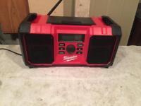 Milwaukee m18 radio