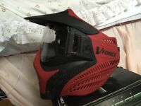 Paintball Mask - V Force Vantage [RED]