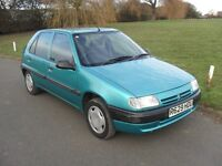 CITROEN SAXO 5 DOOR 1.2 PETROL 1 OWNER FROM NEW WITH 31000 MILES AND FULL CITROEN SERVICE HISTORY