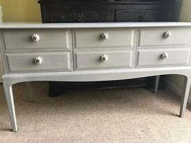 Up Cycled Vintage Stag Dresser/Console Table