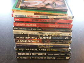 13 MMA BOOKS - ONLY £60!