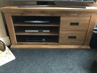 As new solid Corner TV unit