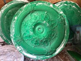Ceiling rose mould make plaster ceiling roses rubber ones too 68cm