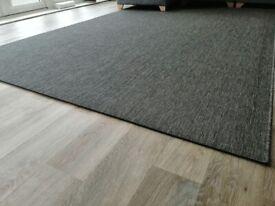 Meadow Woven Grey Rug