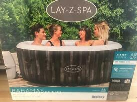 2021 Lay-Z Spa Bahamas 2-4 Person Tub - TAKE FOR JUST OVER RETAIL