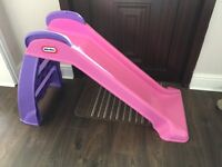 Little tikes pink and purple slide perfect condition