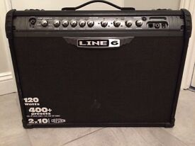 "Line 6 Spider iii. 120 Watt with 2 x 10"" Celestion speakers"