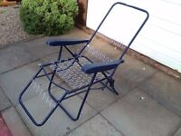 2 garden chairs base
