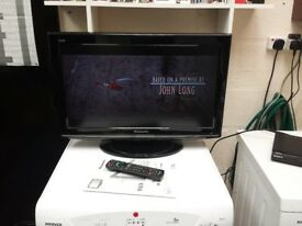 panasonic 26 inch lcd tv with built in freeview and instructions