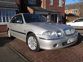Rover 45 Connoisseur with FSH from new