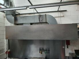9.5FT Commercial Kitchen Hood/Canopy (GREAT CONDITION)
