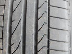 Bridgestone Potenza Run Flat Tyre 18 Inch Nearly New 7mm+ Tread