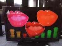 "37"" toshiba LCD full hd freeview tv"