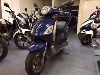 Piaggio Fly 125cc Automatic Scooter, Back Box, Good Condition, Part ex to Clear