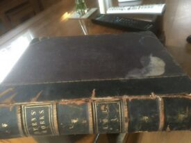 Old book on works of Robert burns . Volume no. 1