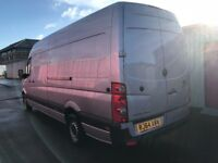 VOLKSWAGEN CRAFTER CR35 LWB 2.0TDI 64REG,ONE OWNER, SERVICE HISTORY, FOR SALE finance available!!