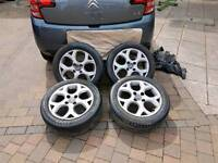 Citroen c3 alloy wheels 16 inch