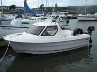 Fishing boat 2013, 17' Smartliner, fully equiped with trailer etc..
