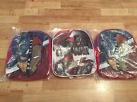 Captain America backpacks x 3