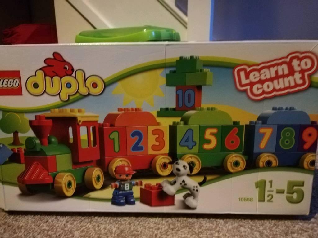 Lego Duplo Number Train In Ashburton Devon Gumtree