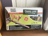 Dog Ramp - tri-fold travel lite ramp