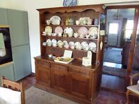a welsh dresser in good condition solid pine