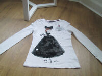 LOVELY GIRLS TOPS - AGE 7-8 & 11 YEARS - VGC - FROM £2.50